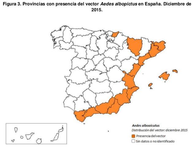 Virus zika españa